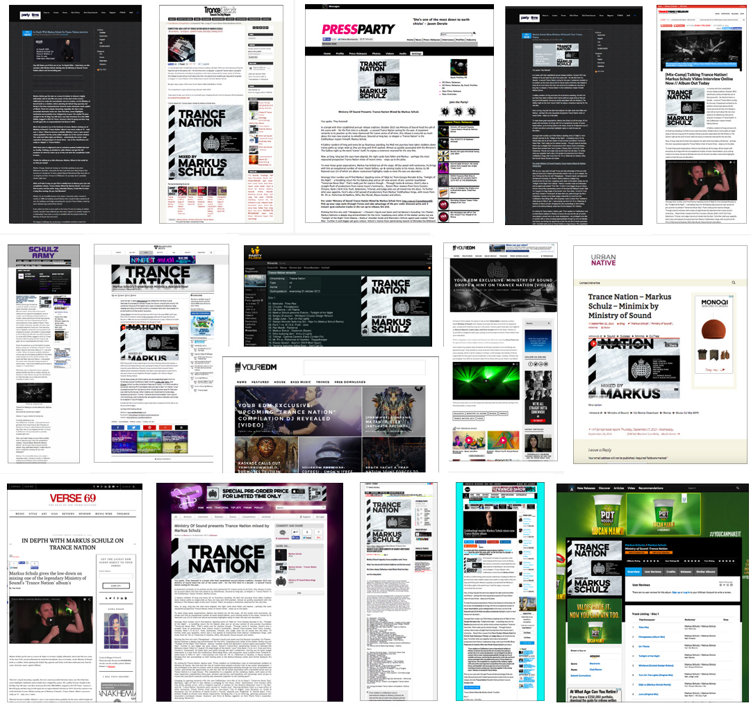 Trance Nation online coverage